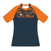 Custom Rugby Jersey | Hex - Slate / Orange - Spartan Sports Global