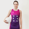 Custom Netball Dress | Lino - Purple - Spartan Sports Global
