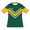 Custom Rugby Jersey | Maul - Green / Yellow - Spartan Sports Global