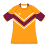 Custom Rugby Jersey | Maul - Maroon / Gold - Spartan Sports Global
