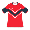 Custom Rugby Jersey | Maul - Red / Slate - Spartan Sports Global
