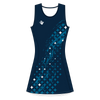 Custom Netball Dress | Galaxy - Navy - Spartan Sports Global