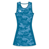 Custom Netball Dress | Hex - Blue - Spartan Sports Global