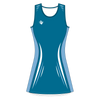 Custom Netball Dress | Lino - Blue - Spartan Sports Global