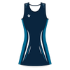 Custom Netball Dress | Lino - Navy - Spartan Sports Global