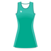 Custom Netball Dress | Stripe - Slate - Spartan Sports Global
