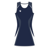 Custom Netball Dress | Swirl - Slate - Spartan Sports Global