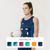 Custom Netball Dress | Plain - Navy - Spartan Sports Global