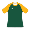 Custom Rugby Jersey | Plain - Green / Yellow - Spartan Sports Global