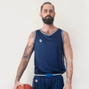 Custom Basketball Singlet | Plain - Navy - Spartan Sports Global