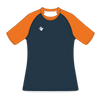 Custom Rugby Jersey | Plain - Slate / Orange - Spartan Sports Global