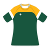 Custom Rugby Jersey | Ruck - Green / Yellow - Spartan Sports Global