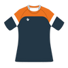 Custom Rugby Jersey | Ruck - Orange / Slate - Spartan Sports Global