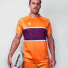 Custom Rugby Jersey | Line Out - Gold / Maroon - Spartan Sports Global