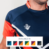 Custom Rugby Jersey | Maul - Slate / Orange - Spartan Sports Global