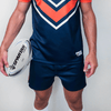 Custom Rugby Short | Maul - Slate - Spartan Sports Global