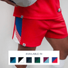 Custom Rugby Short | Ruck - Red - Spartan Sports Global