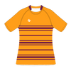 Custom Rugby Jersey | Scrum - Maroon / Gold - Spartan Sports Global