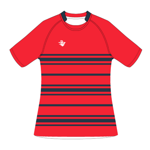 Custom Rugby Jersey | Scrum - Red - Spartan Sports Global