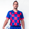 Custom Soccer Jersey | Barca - Red / Blue - Spartan Sports Global