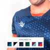 Custom Soccer Jersey | Hex - Slate / Orange - Spartan Sports Global