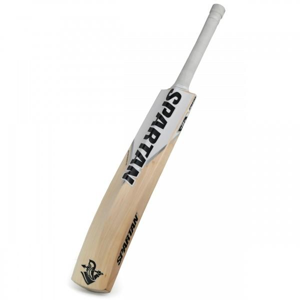 Spartan MSD White Edition English Willow Cricket Bat - Grade 1 - Spartan Sports Global