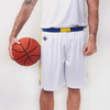 Custom Basketball Short | Warrior - White - Spartan Sports Global