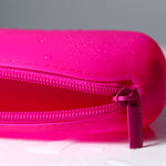 Pink Silicone Carry Bag