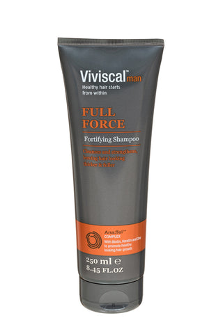 Viviscal Mens Full Force Shampoo 250ml