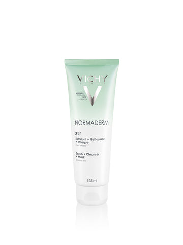 Vichy Normaderm 3-in-1 Cleanser 125ml