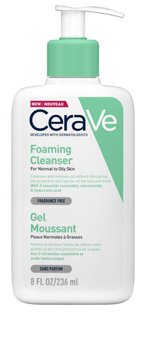 CeraVe Foaming Cleanser 236ml/473ml