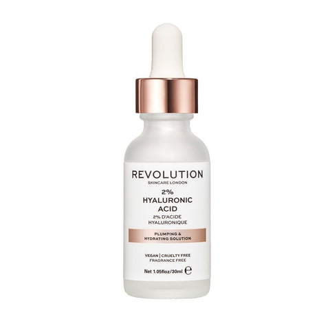 REVOLUTION SKINCARE PLUMPING HYDRATING SERUM