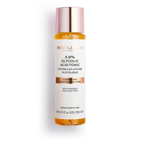REVOLUTION SKINCARE 2.5% GLYCOLIC ACID TONIC