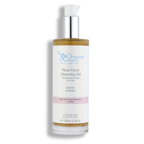 The Organic Pharmacy Rose Facial Cleansing Gel