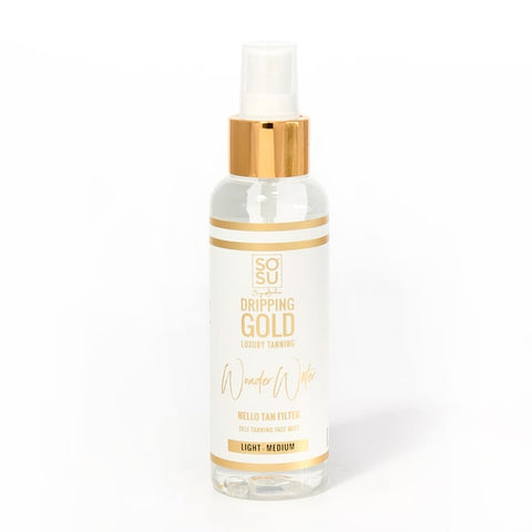 SOSU TANNING  WATER LIGHT- MEDIUM SELF TANNING FACIAL MIST