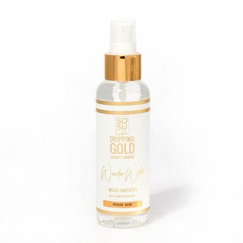 DRIPPING GOLD WONDER WATER COCONUT MED/DARK 100ml