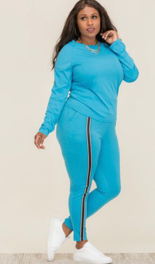 2pc long sleeve set