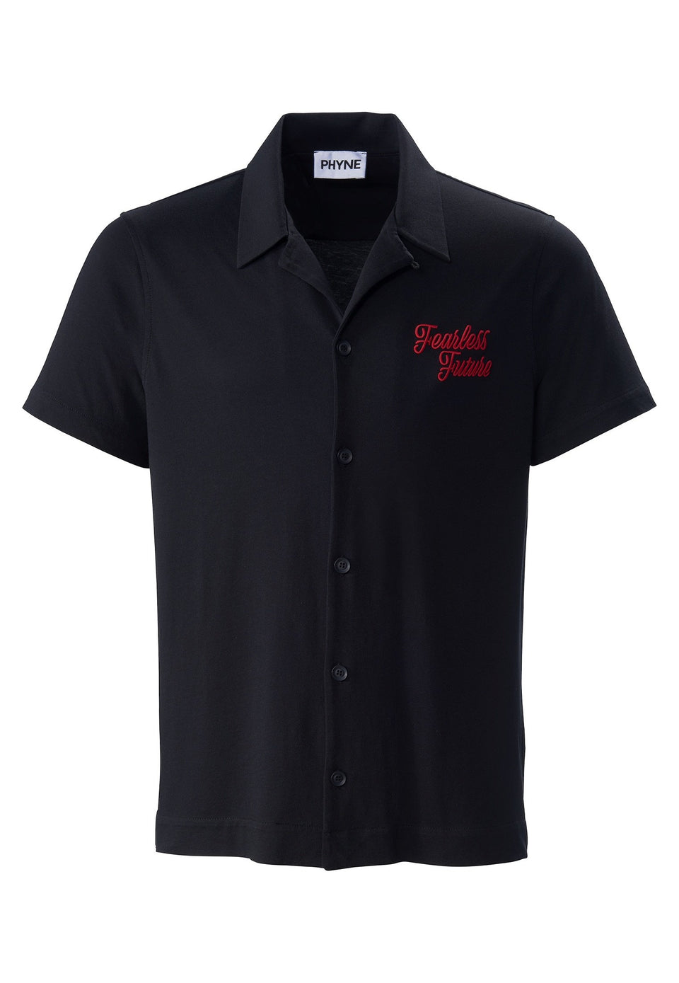 Bowling Shirt Fearless Future Black
