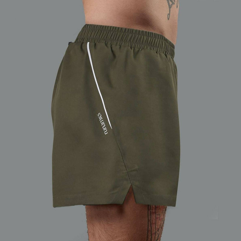 Running Shorts Grey - Unisex - Tencel