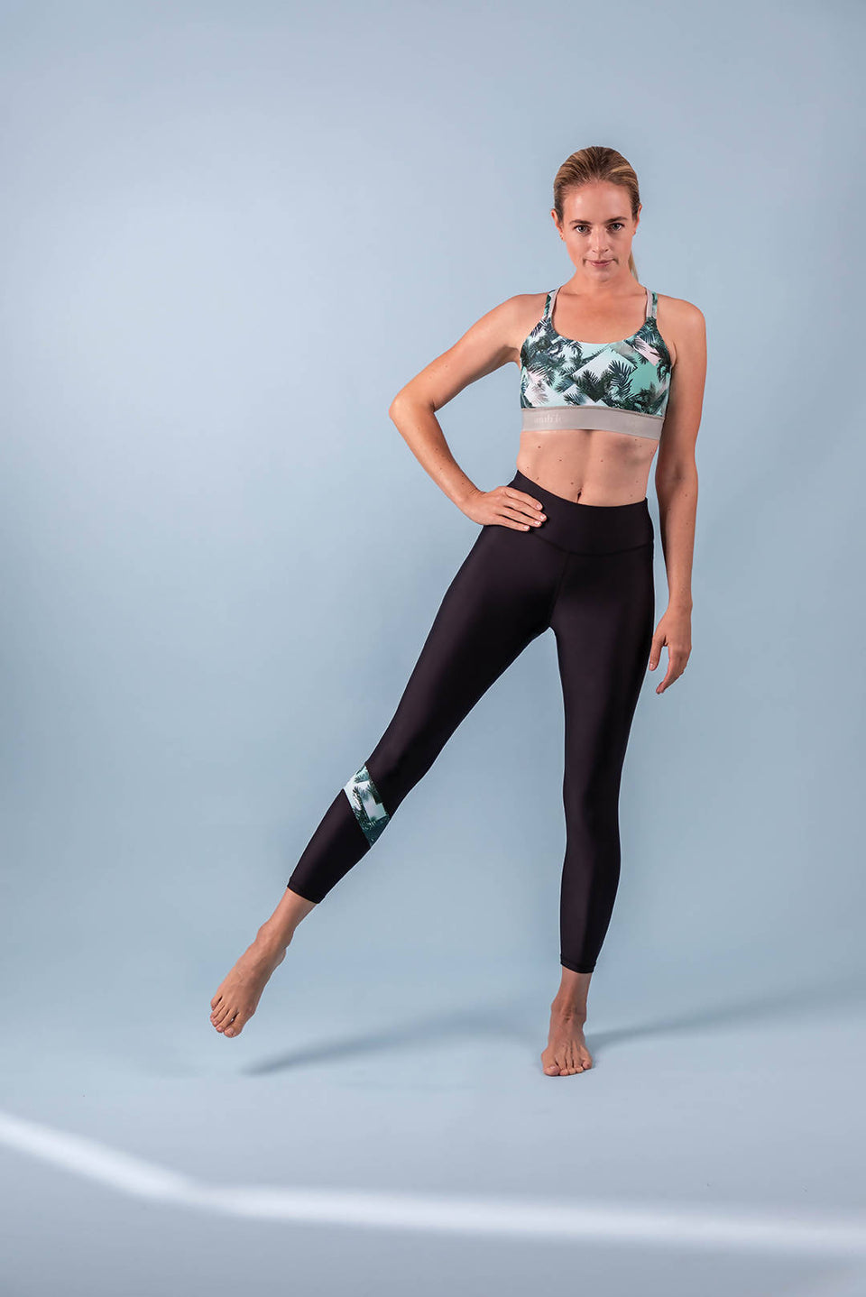 Tropical Tension Power Leggings