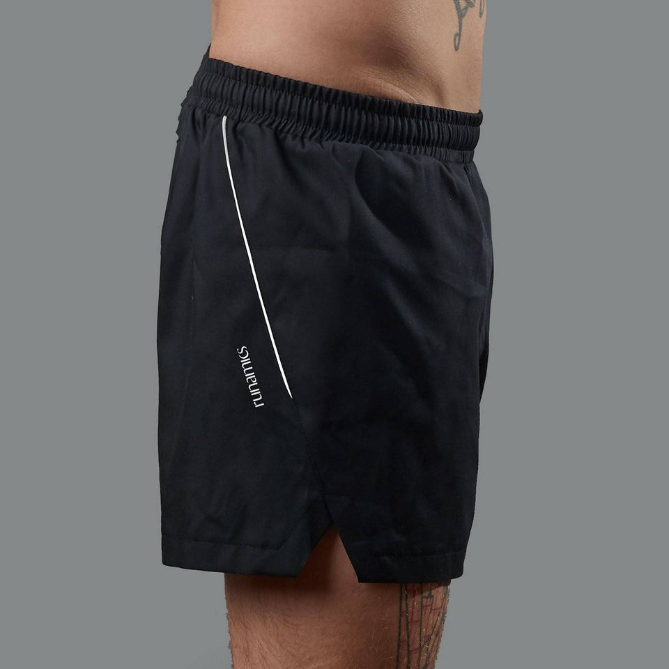 Running Shorts Black - Unisex - Biodegradable Polyester / Tencel