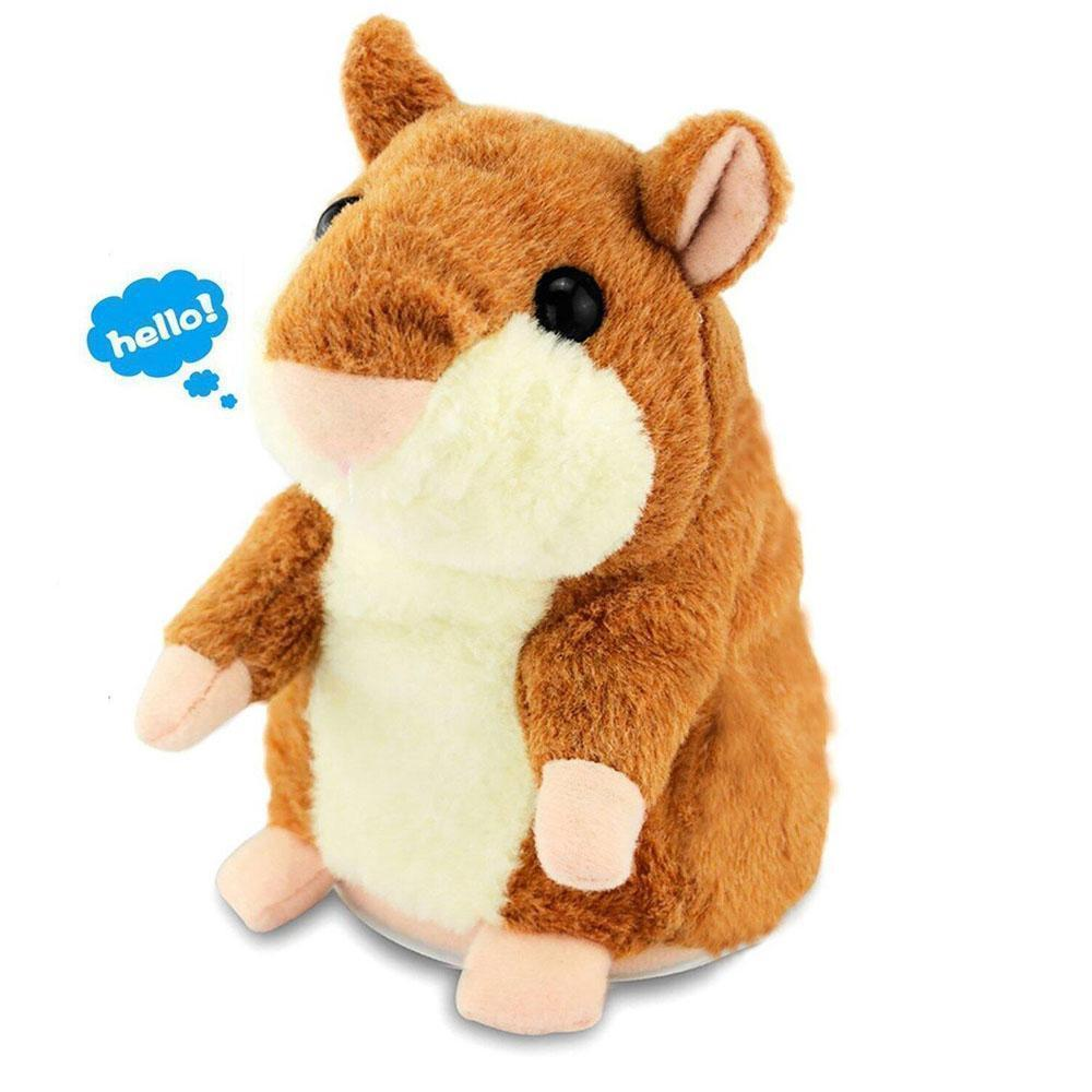Adorable Funny Talking Hamster Toy - Plays Your Dogs Barks! - Pets Watching