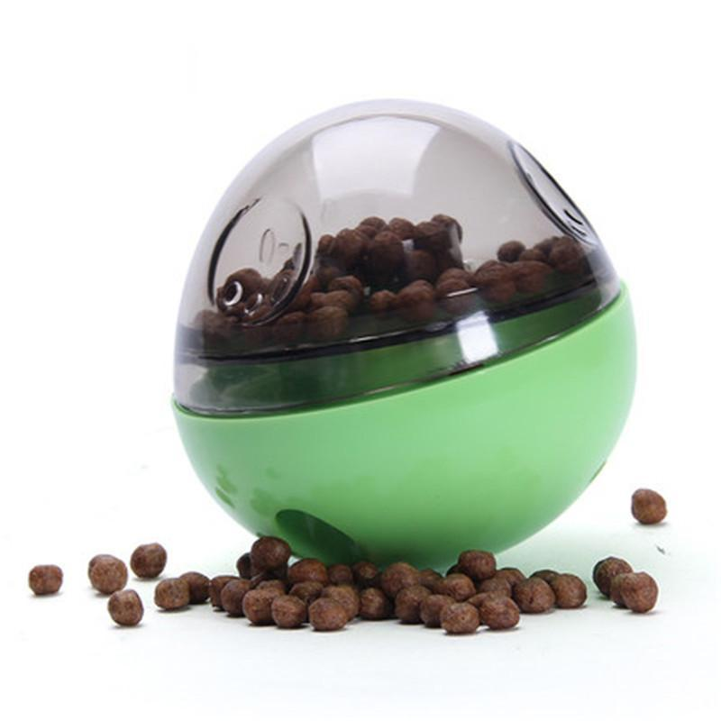 Interactive IQ Treat Ball - Pets Watching