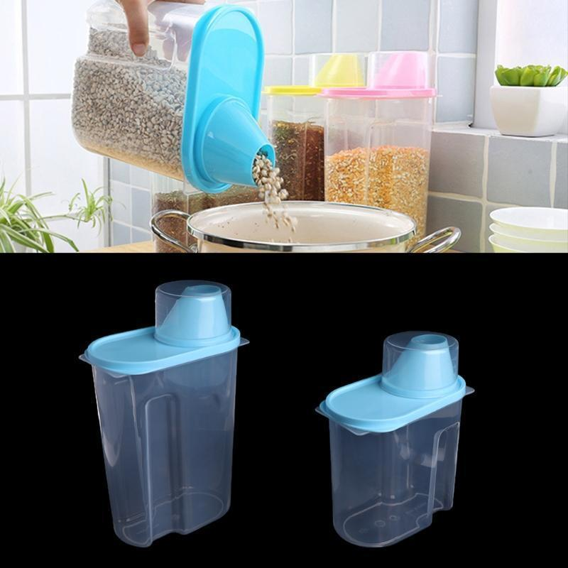 Pet Food Storage Container - Pets Watching