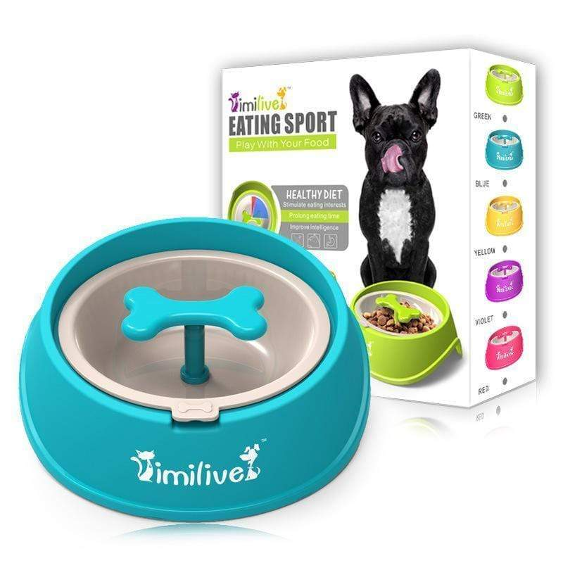 Pets Watch™️ Anti-Choke Slow Feeder Dog Bowl - Pets Watching