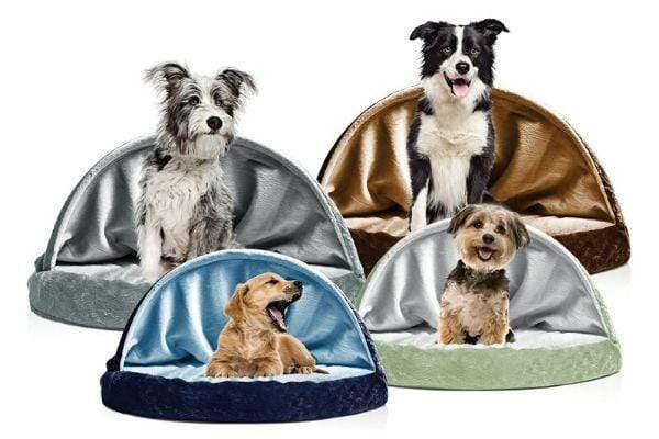 Pets Watch™️ Pet Dog Cave Bed - Therapeutic Snuggery Orthopedic - Pets Watching