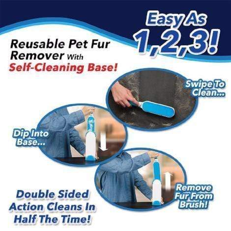 Prime Grabber ™️ Fur & Lint Remover - The Last Lint Roller You'll Ever Need - Pets Watching