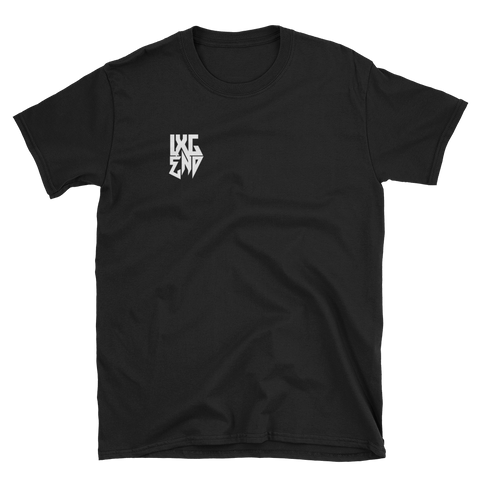 """LXGEND"" Chest Logo Short-Sleeve Unisex T-Shirt"