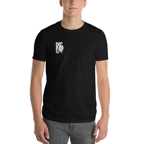 """LXG Crest"" Short Sleeve T-Shirt (Anvil 980)"
