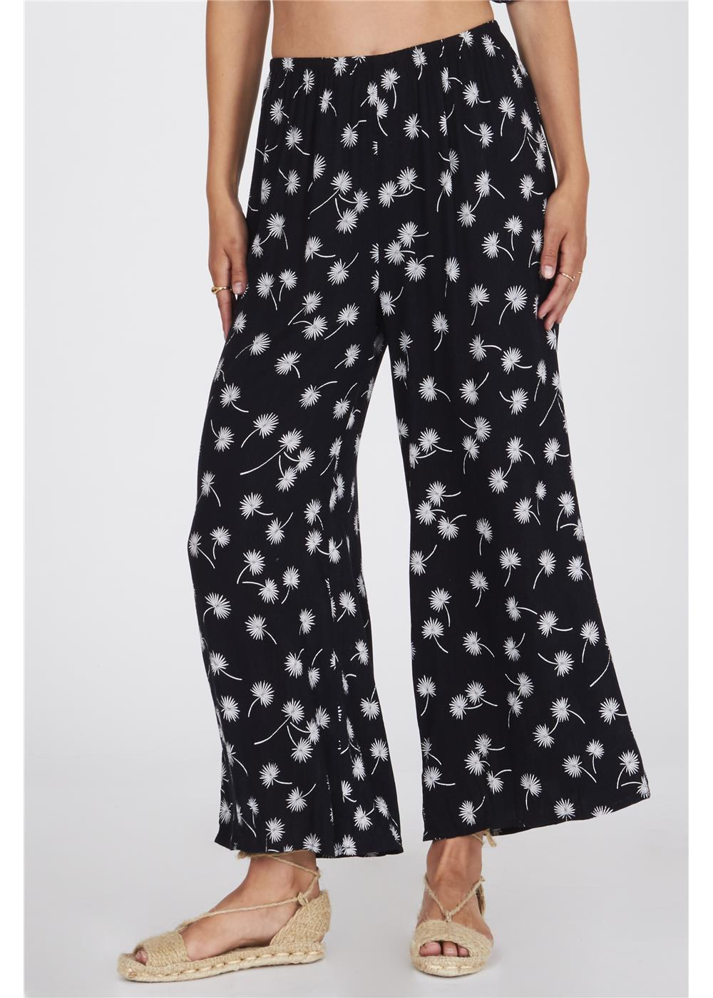 BAREFOOT PANT-BLK